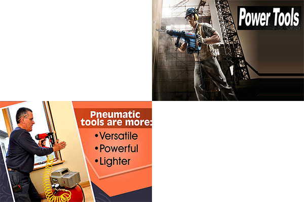 ابزارهای بادی بهتر است یا برقی
