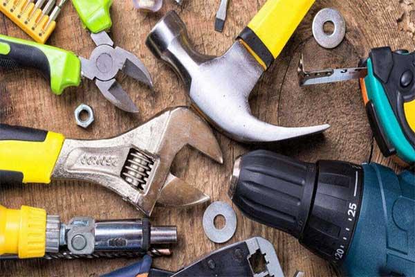 ابزارهای دستی مورد نیاز در خانه