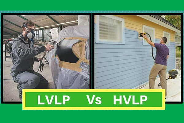 تفاوت پیستوله HVLP با LVLP