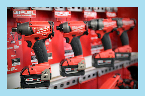 ابزار آلات شارژی میلواکی Milwaukee