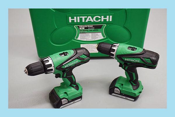 ابزار شارژی برند هیتاچی Hitachi