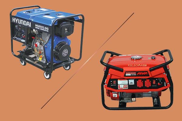 تفاوت بین موتور برق دیزلی و بنزینی