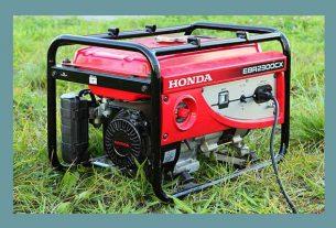 استفاده از ژنراتور برق در باغ
